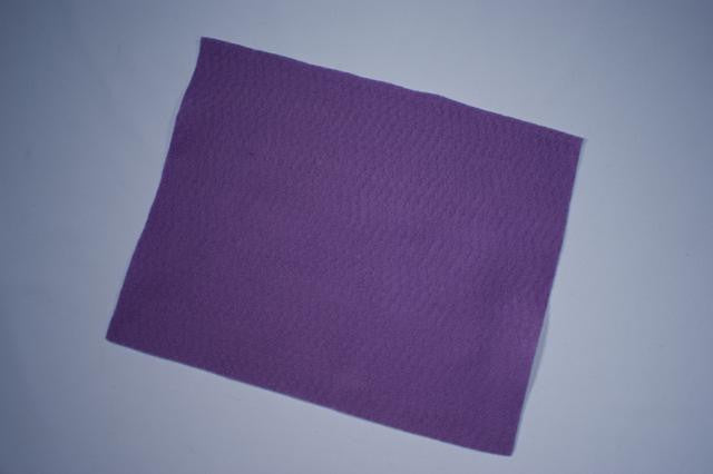 ZP103-84 Felt Rectangular 9 x 12 inch Lilac 25 Pieces