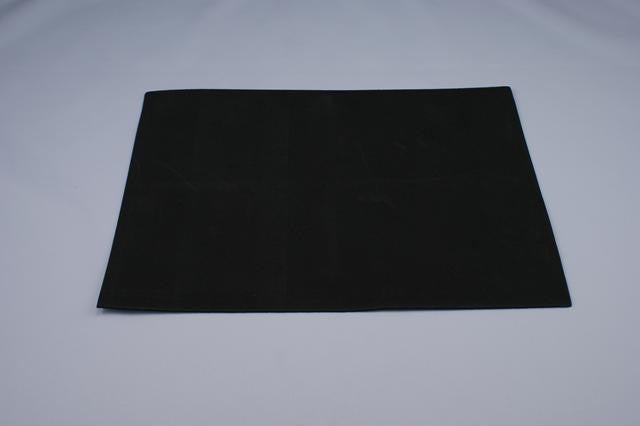 ZP106-63 Fun Foam 9 X 12 inch Black 12 Pieces