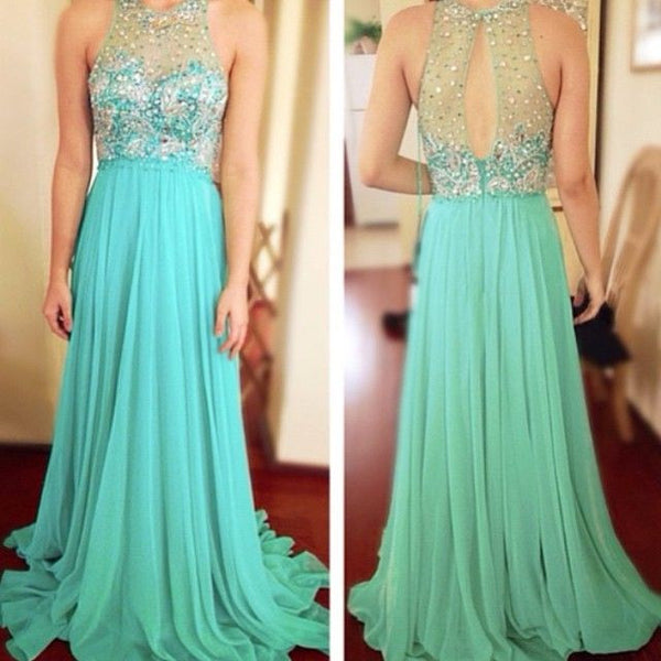 blue Prom Dress,long Prom Dress,charming Prom Dress,2016 prom Dress,evening dress,PD086