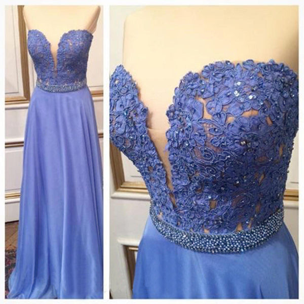 blue Prom Dress,long Prom Dress,cheap Prom Dress,simple Prom Dress,bridesmaid dress,PD021
