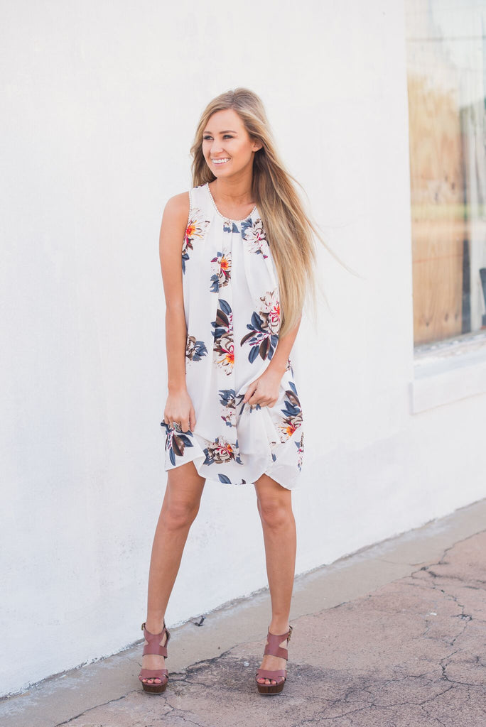 Seasons of Change Floral Dress