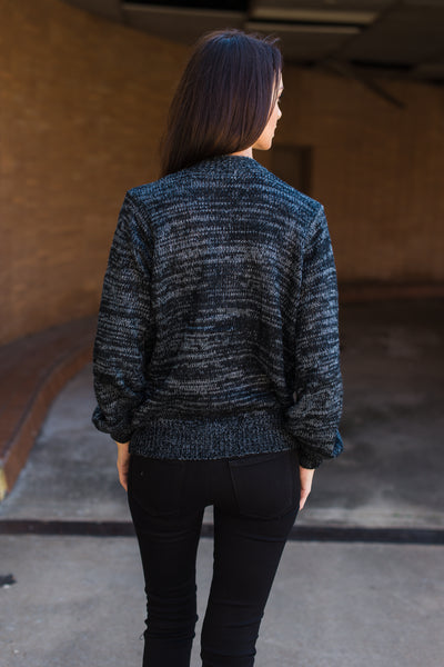 Easy Goes It Sweater - Charcoal