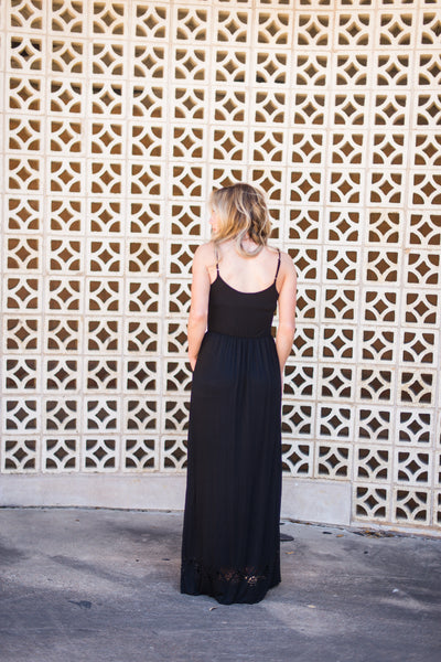 Sweet Things Maxi Dress - Black
