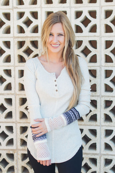 All in The Details Henley Tunic