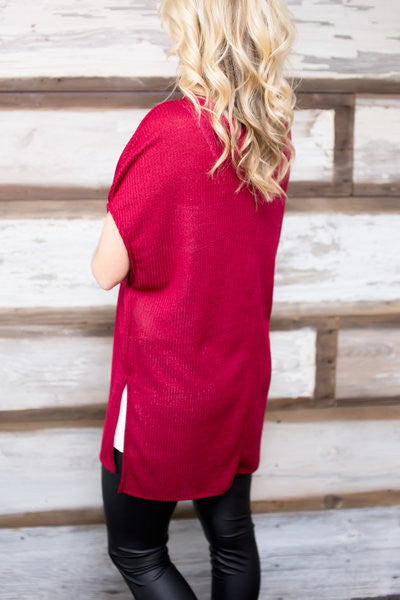 Make My Day Mock Neck Tunic