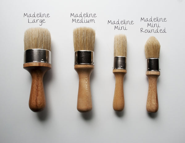 Madeline Medium Wax Brush