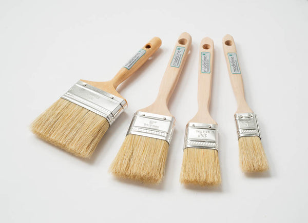 "1.5"" Natural Bristle Paint Brush"