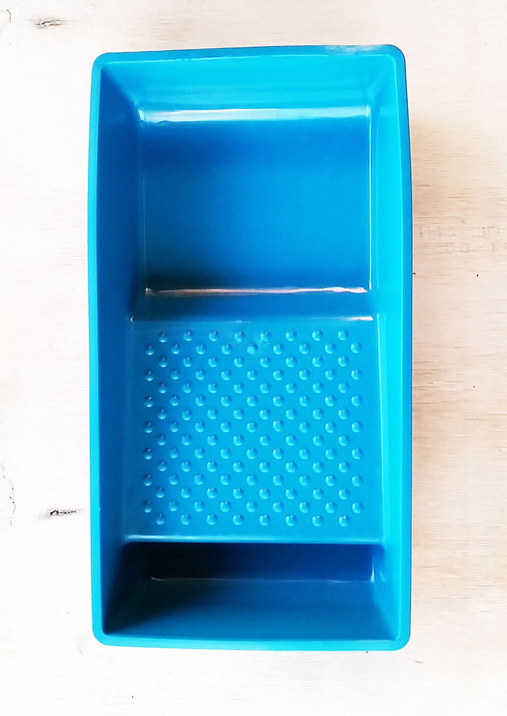 "Turquoise 4"" Paint Tray"
