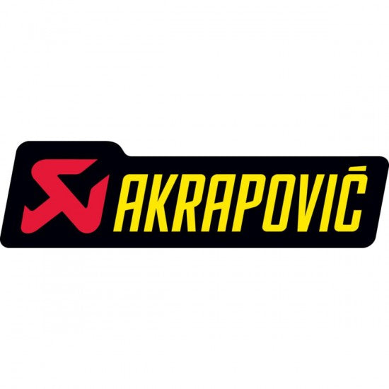 STICKER AKRAPOVIC ALUMINIO