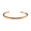 Custom Engraved Bar Bangle