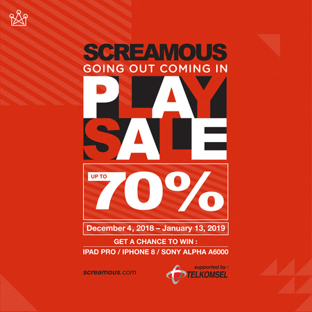 GOING OUT COMING IN ; PLAYSALE