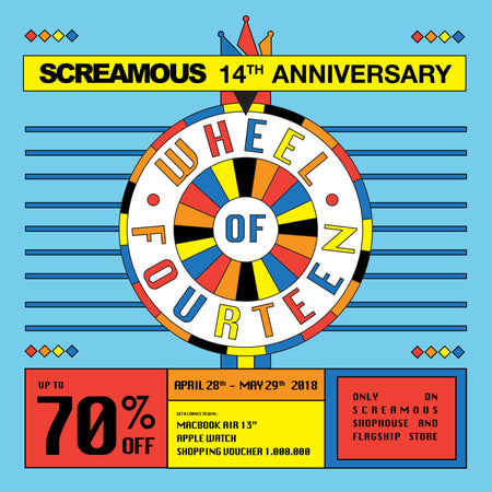 SCREAMOUS WHEEL OF FOURTEEN