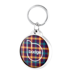 Intelligent Pet ID Tag - Plaid