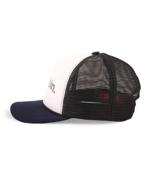Topi Main - Navy Black