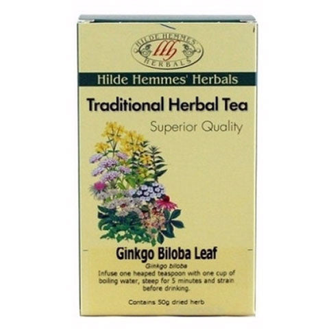 Hilde Hemmes Traditional Tea Ginkgo Biloba Leaf 50g