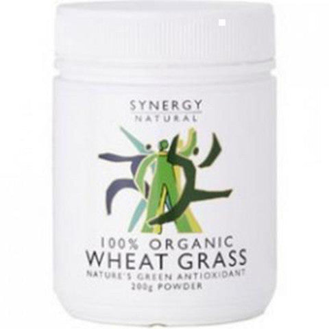 Synergy Natural Wheat Grass Organic 200g