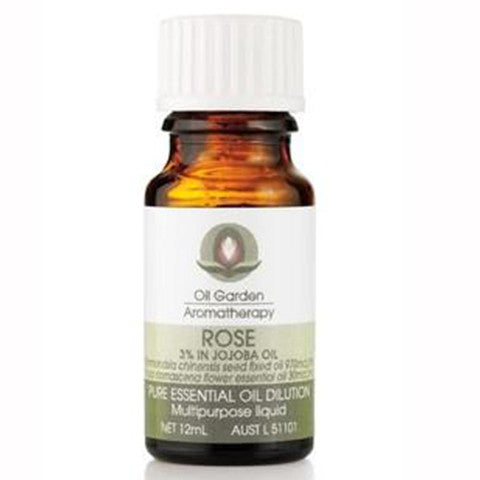 Oil Garden Aromatherapy Rose 3% in Oil 12ml