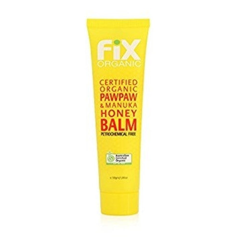 Fix Organic Pawpaw Manuka Honey Balm 30g