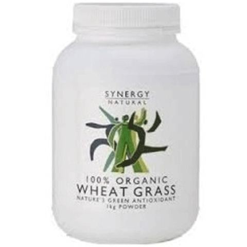 Synergy Natural Wheat Grass Organic 1kg