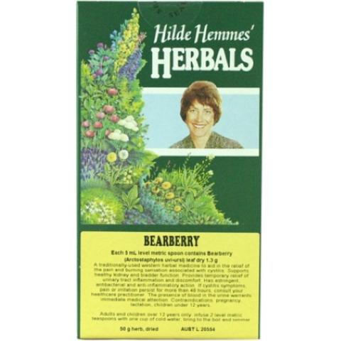 Hilde Hemmes Herbal's Bearberry (Uva Ursi) 50g