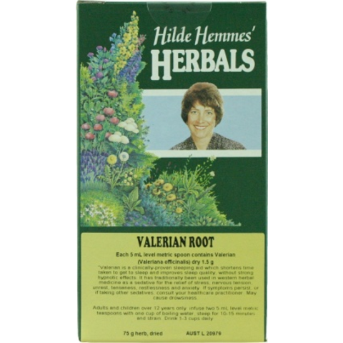 Hilde Hemmes Herbal's Valerian Root 75g