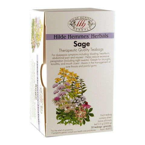Hilde Hemmes Herbal's Sage 30s Tea Bags