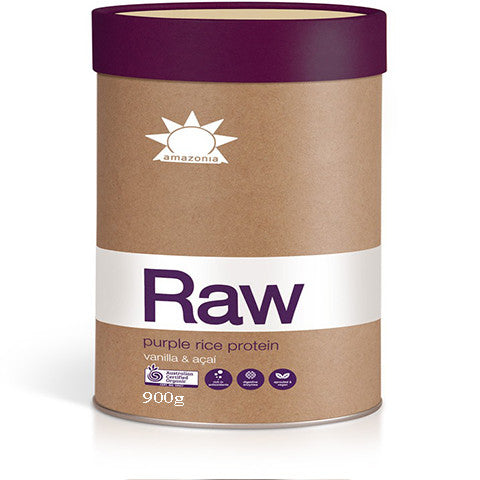 Amazonia Raw Purple Rice Protein Vanilla & Acai 900g