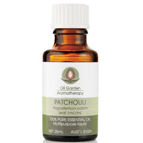 Oil Garden Aromatherapy Patchouli Oil 25ml