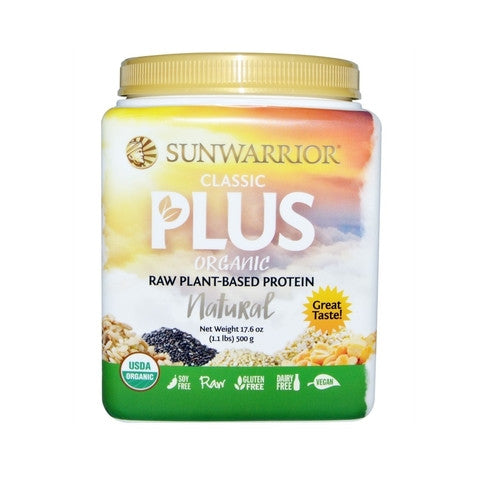Sunwarrior Classic Plus Organic Natural 500g