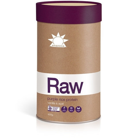 Amazonia Raw Purple Rice Protein Vanilla & Acai 450g