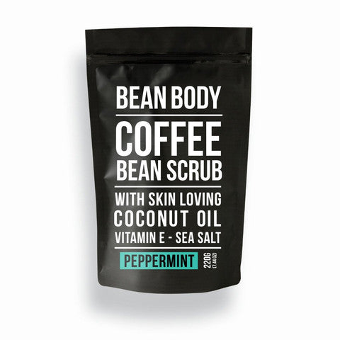 Bean Body Peppermint Scrub 220g