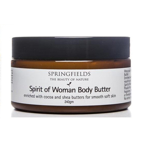 Springfields Spirit of Woman Body Butter 240gm