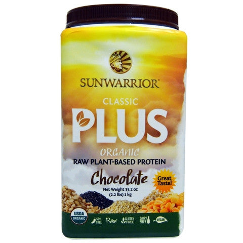 Sunwarrior Classic Plus Organic Chocolate 1kg