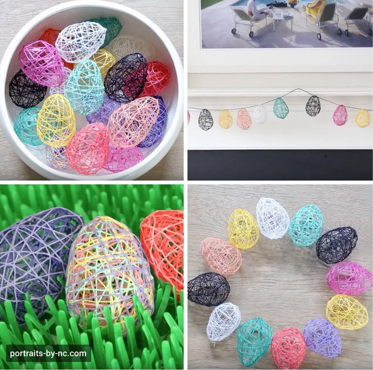 Yarn Easter Egg DIY
