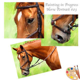 Horse Portrait 603 in Progress
