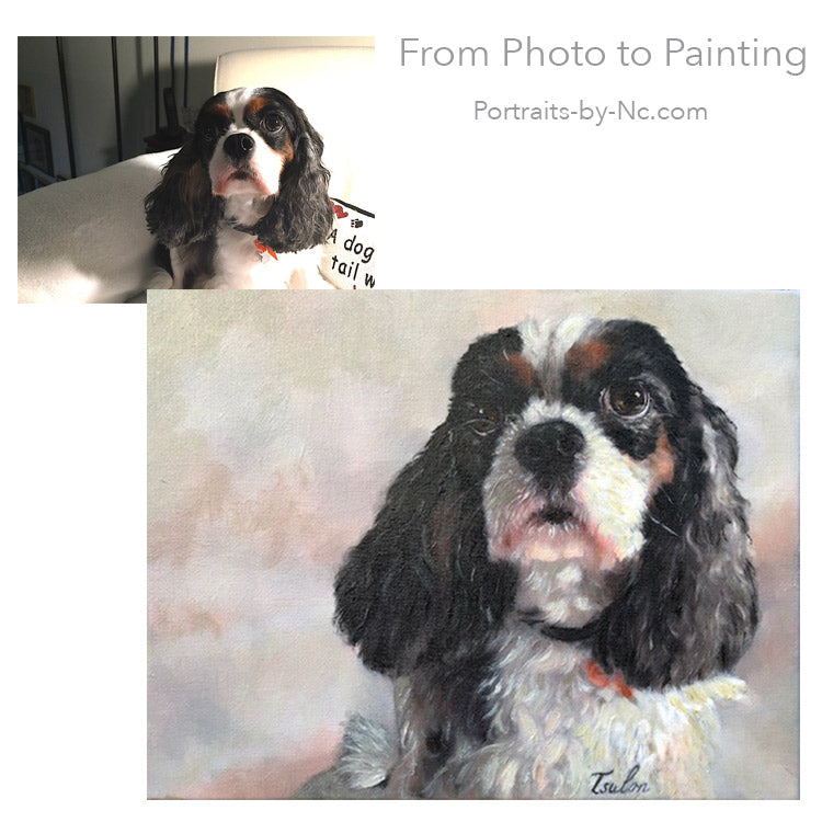 Pet Portrait King Charles