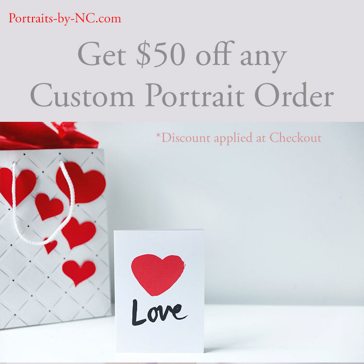 Mother's Day Special $50 Off Any Portrait Order
