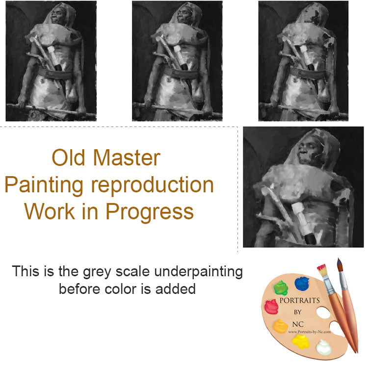 How to make an Underpainting