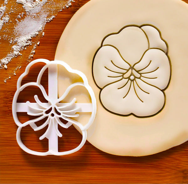 How to make Pansy Cookies