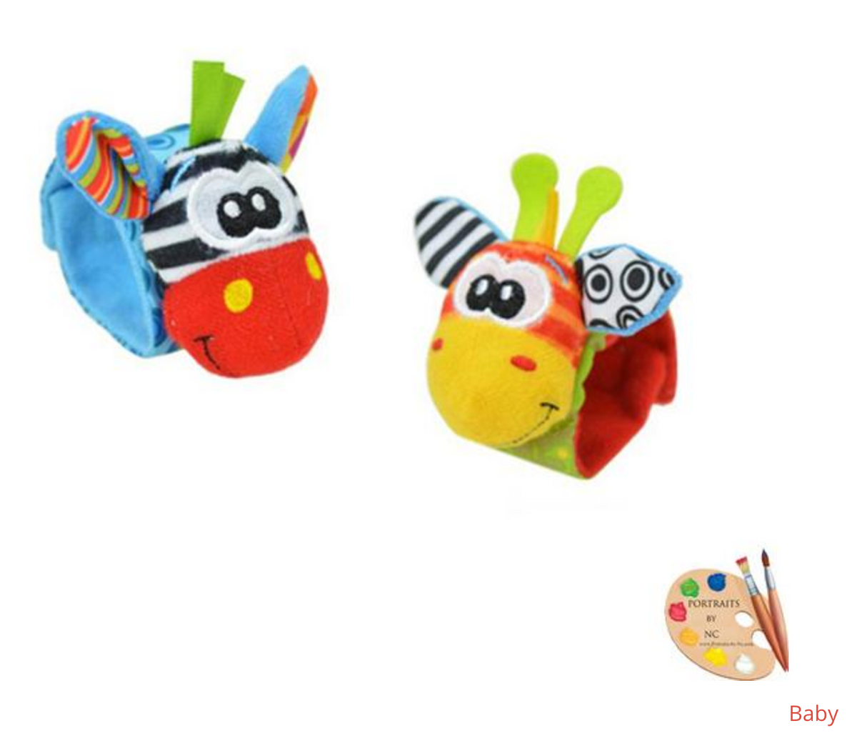 Cartoon Baby Toys 0-12 Months Soft Animal Baby Rattles