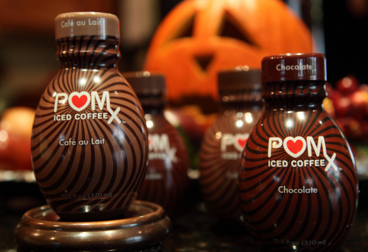 Trick or Treat  ~  Pom Iced Coffee