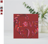 Go Bold with this New Large Valentines Card