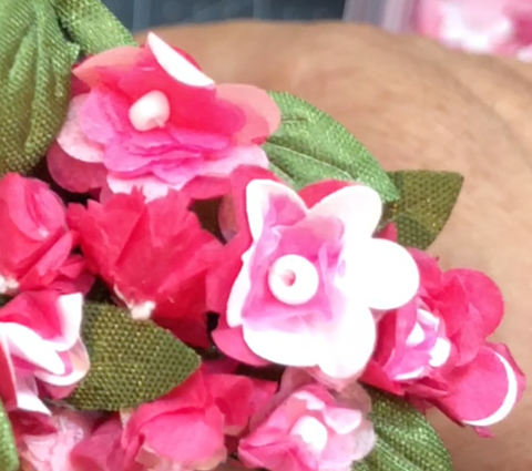 Tutorial - How to make Miniature Flower Garlands
