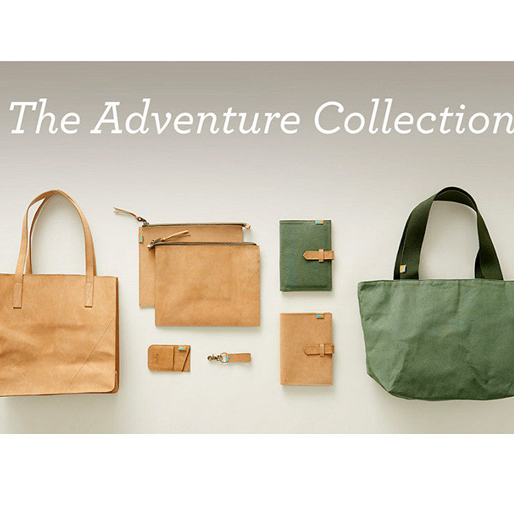 The Adventure Collection Leather Goods