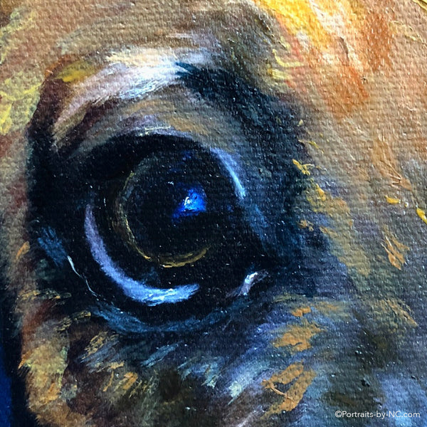 Boxer Puppy Painting 690