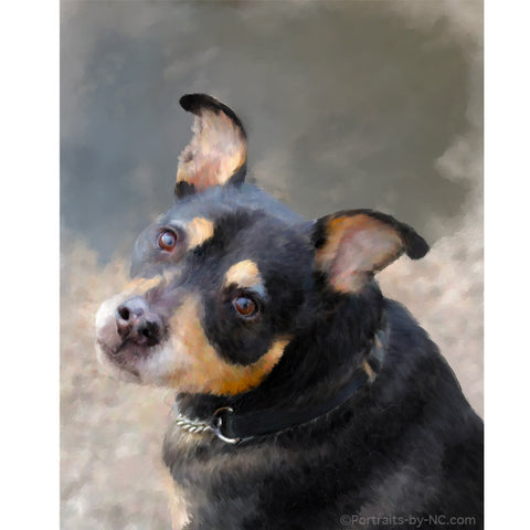 Dog Portrait from your Photo