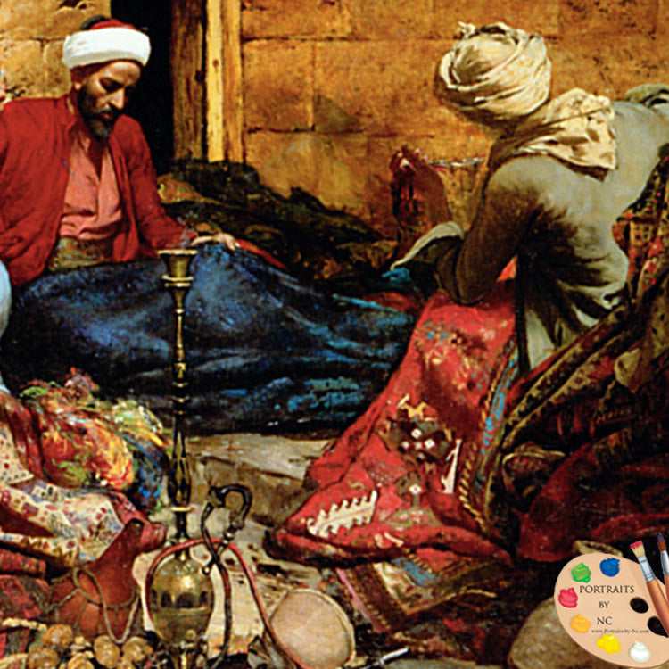 Carpet Menders by Rudolf Swoboda