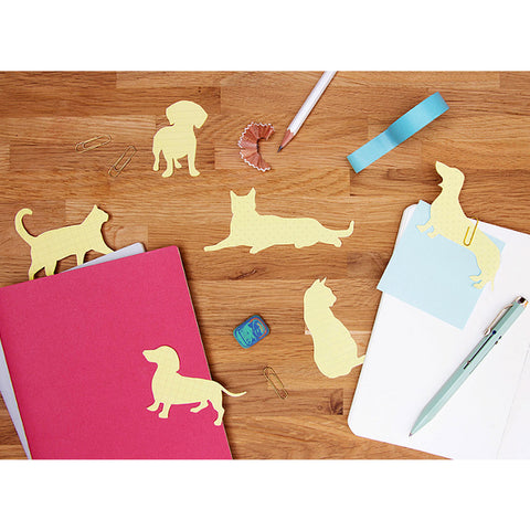Cute Dog and Cat Sticky Notes Make Great Stocking Stuffers