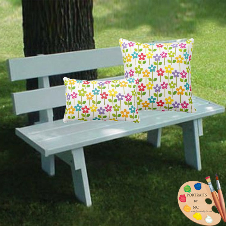 Garden Outdoor Pillow