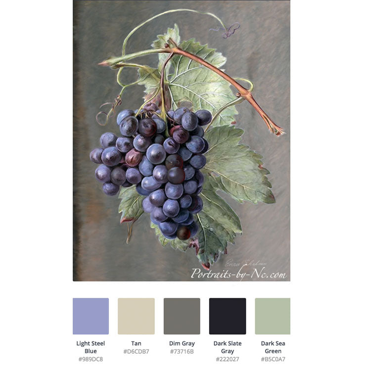 Picking a Perfect Color Palette - Purple and Green